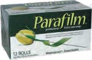 parafilm 13 mm x 23 m, dilatable, middle green, 12 roles